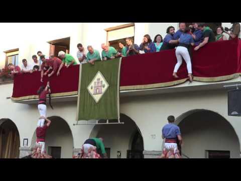 Capgrossos Pilar de 4 al balcó, Barberà del Vallès 2016