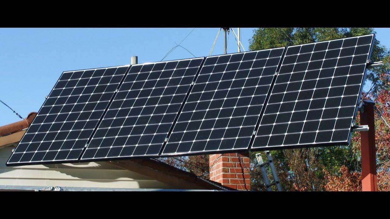 Solar Panel Upgrade - LG NeON® 2, Part 2