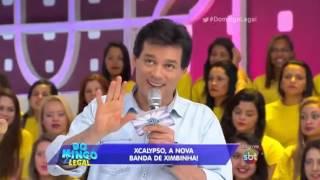 XCalypso (Thábata e Ximbinha) no Domingo Legal SBT - Parte 02 (Entrevista + Músicas)