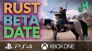 RUST 🛢 Beta Ręlease Date 🎮 PS4 XBOX PS5 Xbox Series X|S