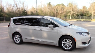 My New Minivan Tour! | 2017 Chrysler Pacifica Touring-L