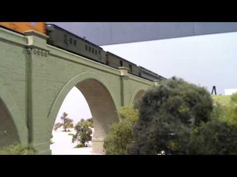 Cab Forward at Santa Ana River Bridge Module