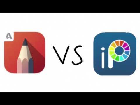 Sketchbook vs ibispaint comparison (Halloween special)