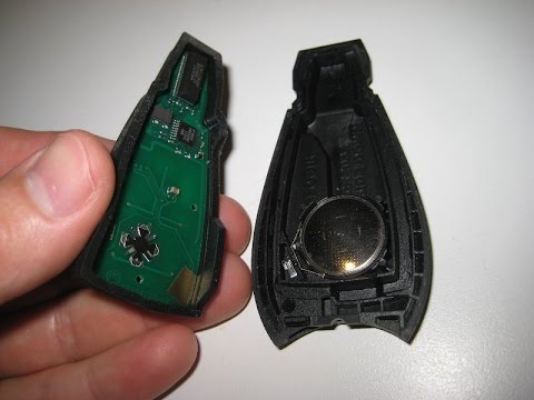 Dodge Key Fob Battery Replacement This Easy Youtube