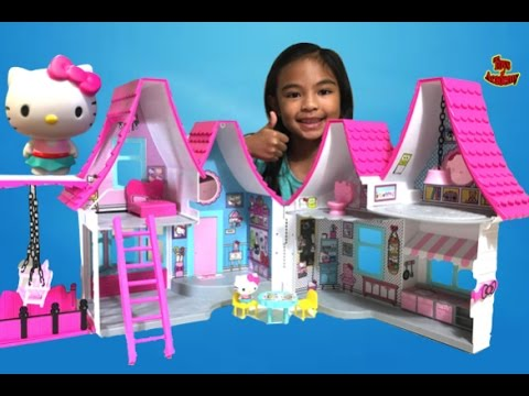 Hello Kitty and Friends Dollhouse Unboxing | Toys Academy