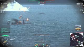 World of Warships - Raining Shells