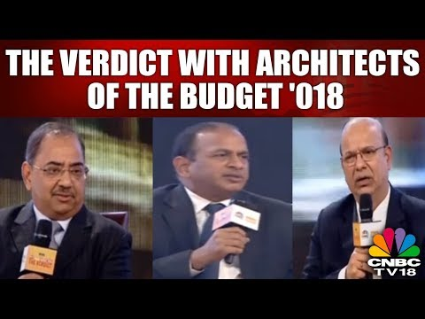 #BudgetVerdict: The Verdict With Architects of the BUDGET 2018 | #budget #cnbc Tv | CNBC TV18