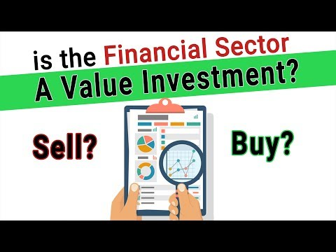 is the Financial Sector a Value Investment Today - Best Value Investments - $GS $SCHW