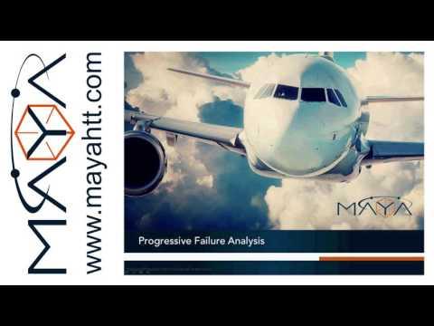 Webinar: Progressive Failure Analysis in laminate composites