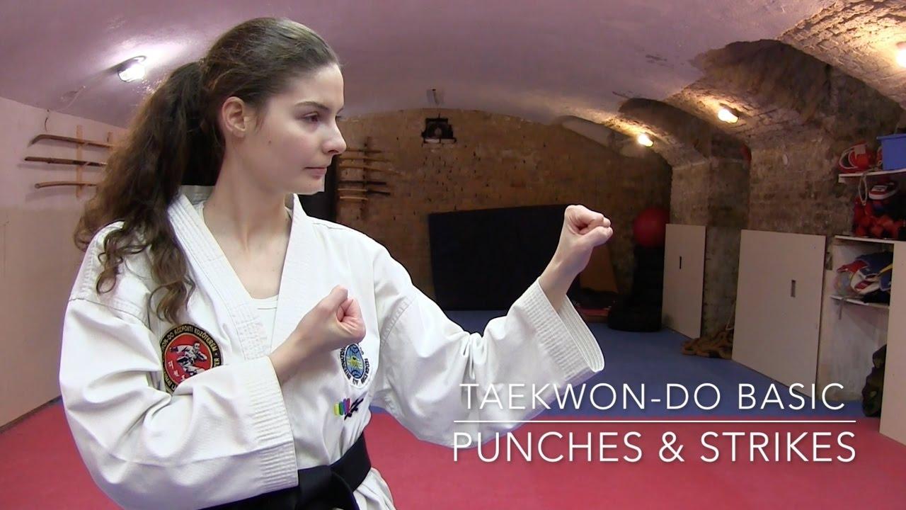 Taekwon-do   Basic Punches and Strikes 🥋👊🏻