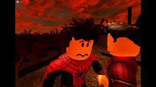 (SPOILERS) avengers infinity war spider man death scene in roblox