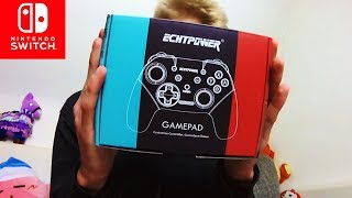 GUT amp; GÜNSTIG TURBO Taste ECHTPower Nintendo Switch Controller Unboxing amp; Review