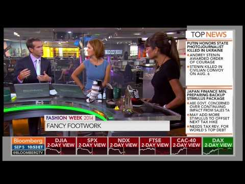 Ruthie Davis on Bloomberg Market Makers