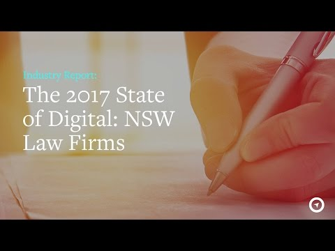 The 2017 State of Digital: NSW Law Firms