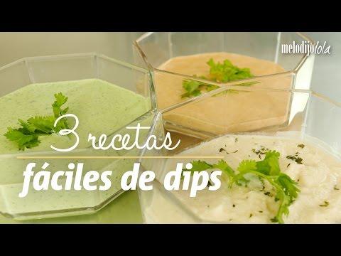 3 recetas de dips súper fáciles y rápidas | A comer y a tomar