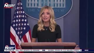 AMERICA IS BACK: Kayleigh McEnany FULL White House Briefing 5/26/20