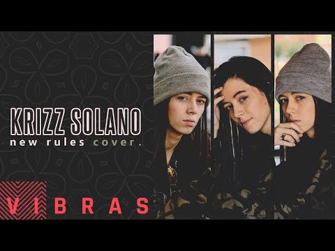 Dua Lipa - New Rules (Cover by Krizz Solano)