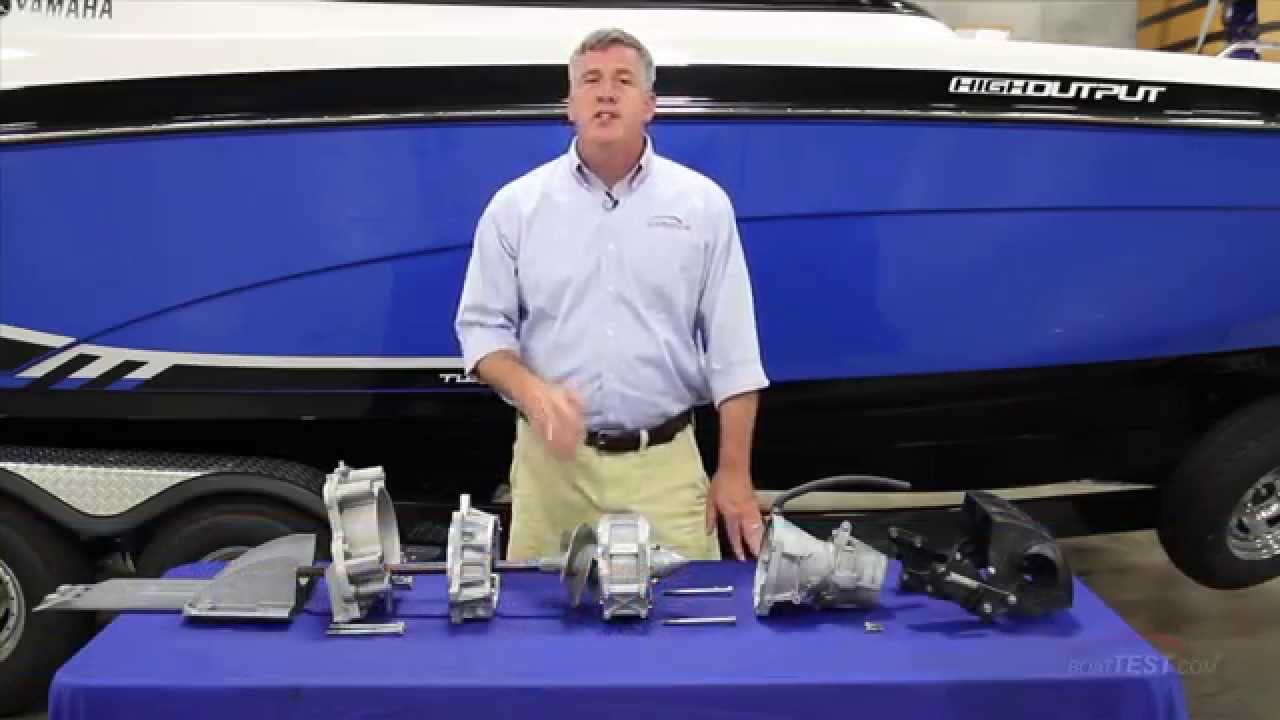 Yamaha Jet Drive System 2015- By BoatTest com