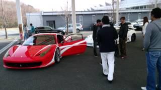 Supercar meeting in japan.