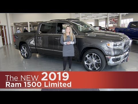 All-New 2019 Ram 1500 Limited - Minneapolis, Elk River, Coon Rapids, St Paul, St Cloud, MN | Review