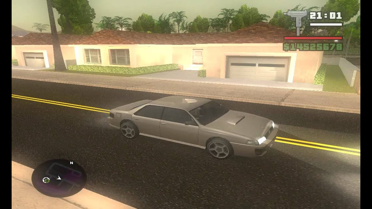 GTA SA - ENB series (For Low PC's) And Effect Mod! + New Roads
