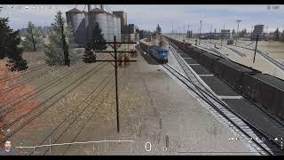 Trainz Railfanning Pt 225: Amtrak, BN, BNSF, CSX, NS  N&W