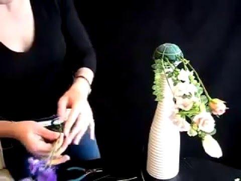 Каскадный букет невесты  Мастер класс  Чернявская Светлана
