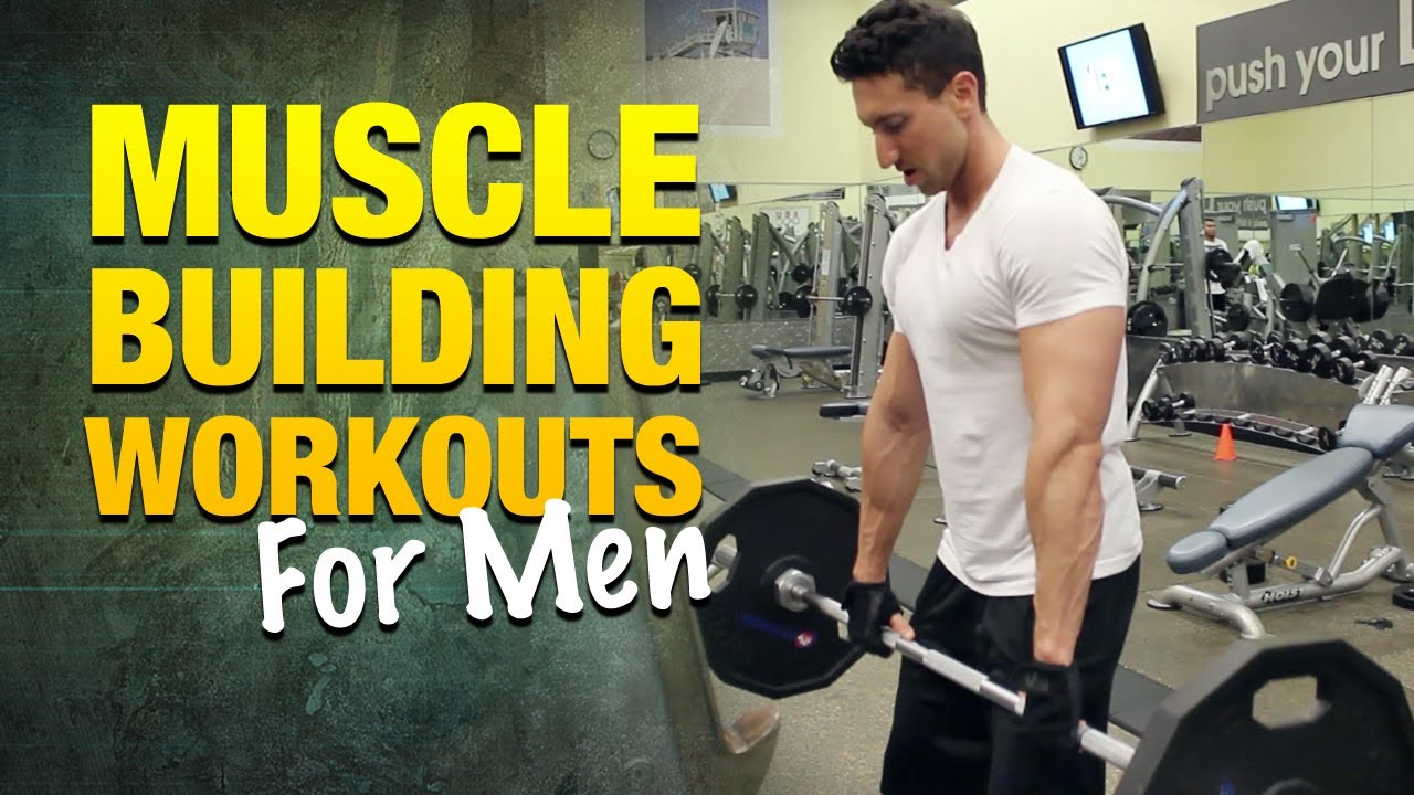 Muscle Building Workouts For Men How To Get Bigger Arms Shoulders And Chest