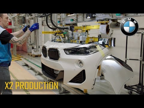 BMW X2 production at the Regensburg plant