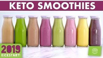 Low Carb Smoothies!! Keto Smoothie Recipes! #kickstart2019