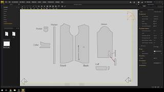 Marvelous Designer Tutorial - Tracing The Pattern