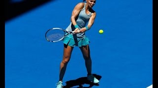 Eugenie Bouchard vs Lucie Safarova Highlights HD Hopman Cup 2015