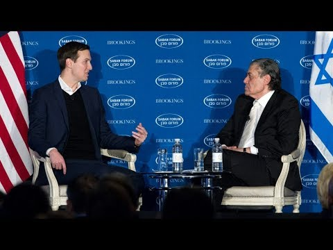Rare Conversation with Jared Kushner,  Saban Forum - 2017