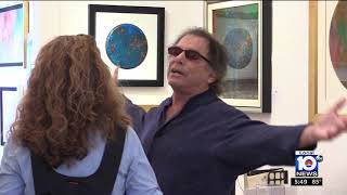 Legendary Grateful Dead drummer, Mickey Hart's Art on display at We...