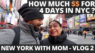 Rs. 35,000, 4 days in New York City? How Much Money You Need to Explore New York With Your Parents?