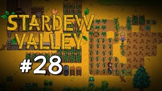 Foraging Profession Choice / Copper Watering Can Upgrade - Stardew Valley Playthrough, Part 28