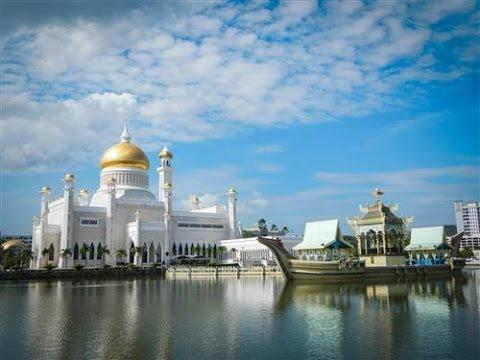 Savanna Style Location Map of Brunei  |Brunei