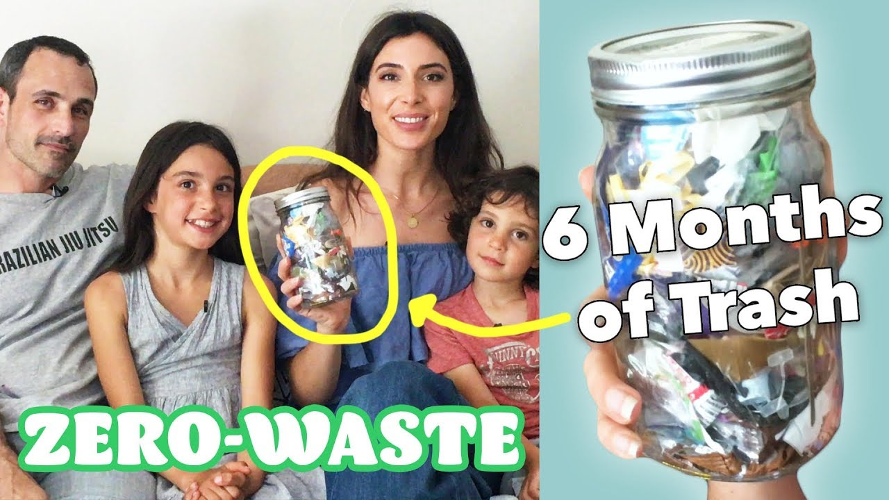 This Family Tries To Not Make Trash