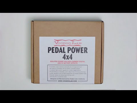VooDoo Lab Pedal Power 4x4 Unboxing