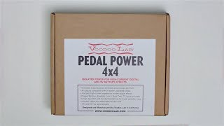 VooDoo Lab Pedal Power 4x4 Unboxing - Axe Tuts S01E23