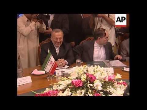 FMs hold bilateral talks, Iran backs Pakistan on natural gas pipeline