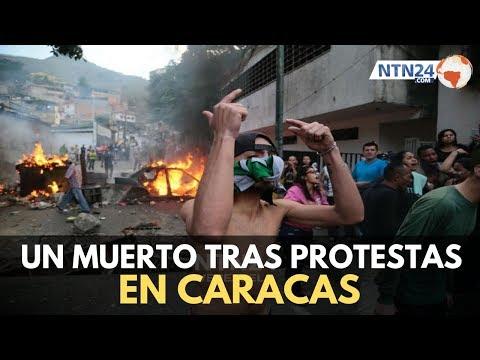 Un muerto y al menos ocho heridos tras manifestaciones en Cotiza, Caracas