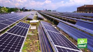 The Biosolar Roof Project