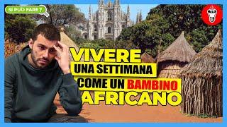 Vivere una Settimana Come un Bambino Africano (In Povertà Totale) a Milano - Si Può Fare? - theShow