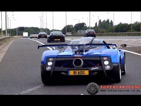 Supercars BLASTING onto Motorway- EPIC SOUNDS!