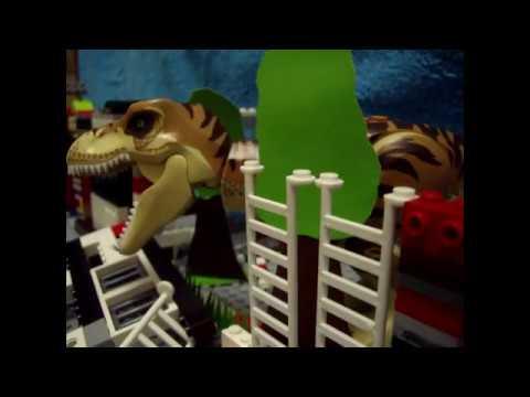 Лего фильм про динозавров №6 (stopmotion)