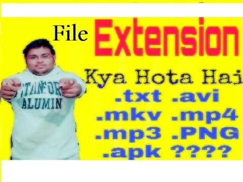 [HINDI]what is file extension?? .txt ,.mp4,.mp3 ???