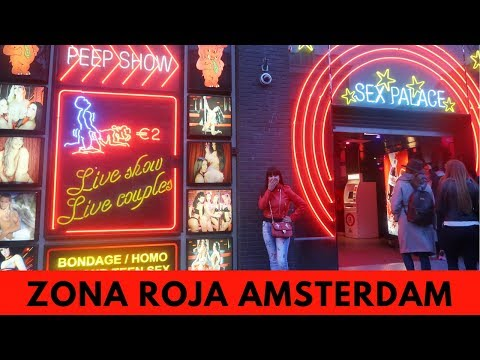 LA ZONA ROJA DE AMSTERDAM! LES MUESTRO TODO | Vlog #29