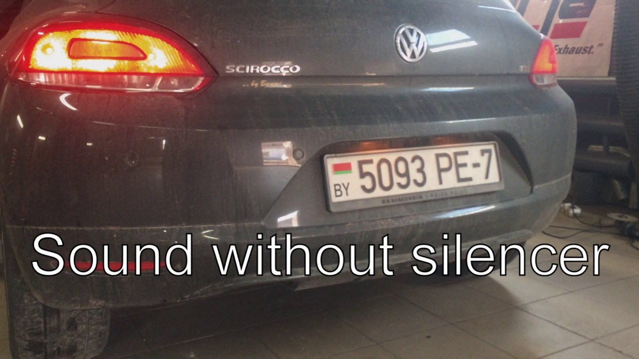 Volkswagen Scirocco III - разводка на 2 стороны