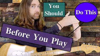 Guitar Tips - Warm Up Before You Play Using These Steps